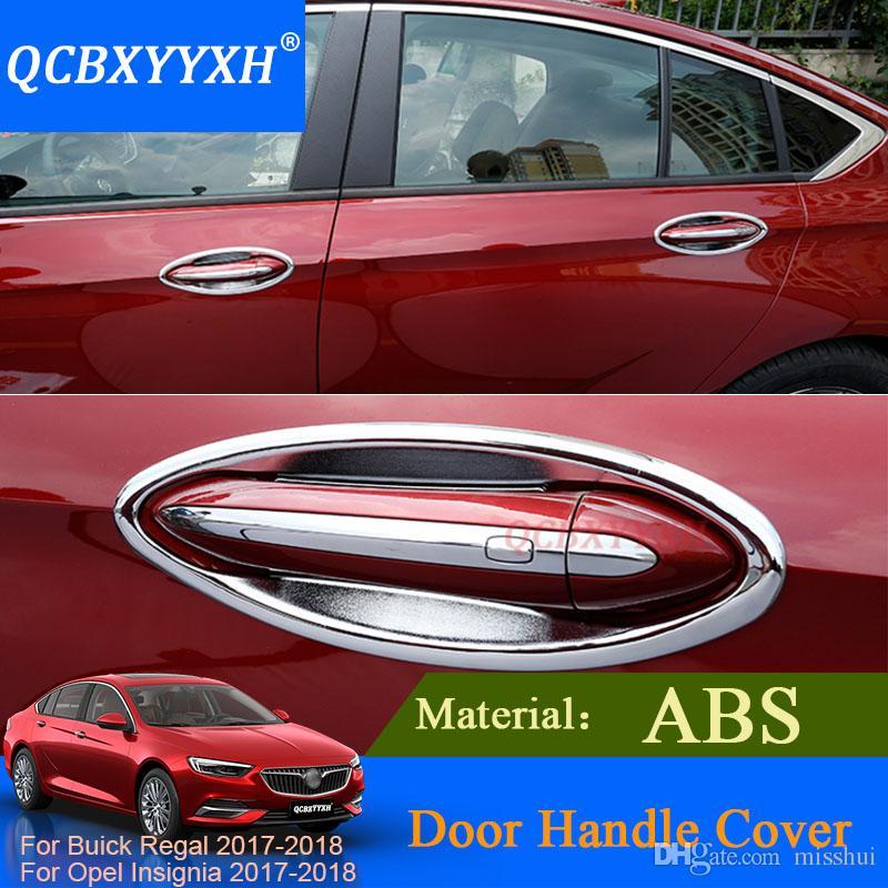 QCBXYYYYXH для Buick Regal Opel Insignia 2017 2018 внешняя ручка двери декоративная крышка отделка ручка двери чаша термоаппликации полосы блесток
