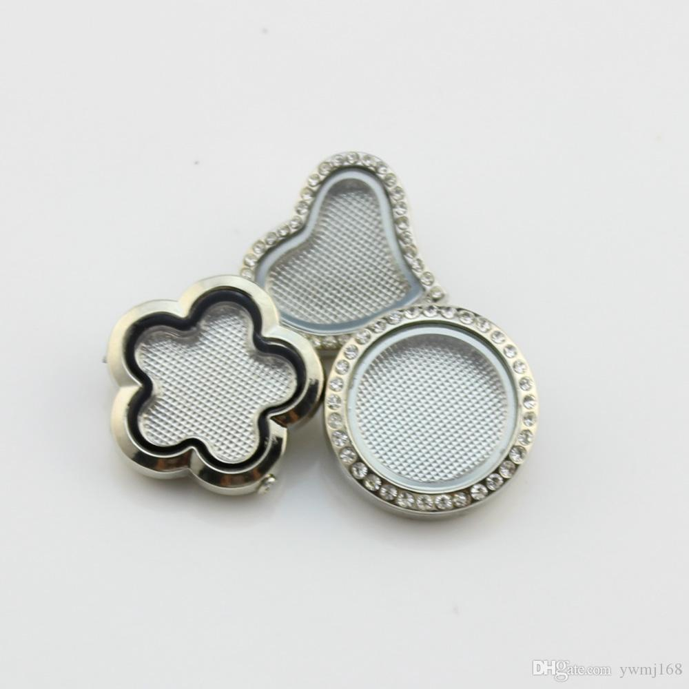2018 Hot sale 25mm round heart flower ginger snap button alloy silver locket snap button for snap bracelet