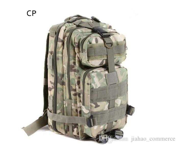 Sport Outdoor camouflage mountaineering bag 3p military Tactical Backpack laptop Molle Rucksacks Camping Trekking bag TOPB1914