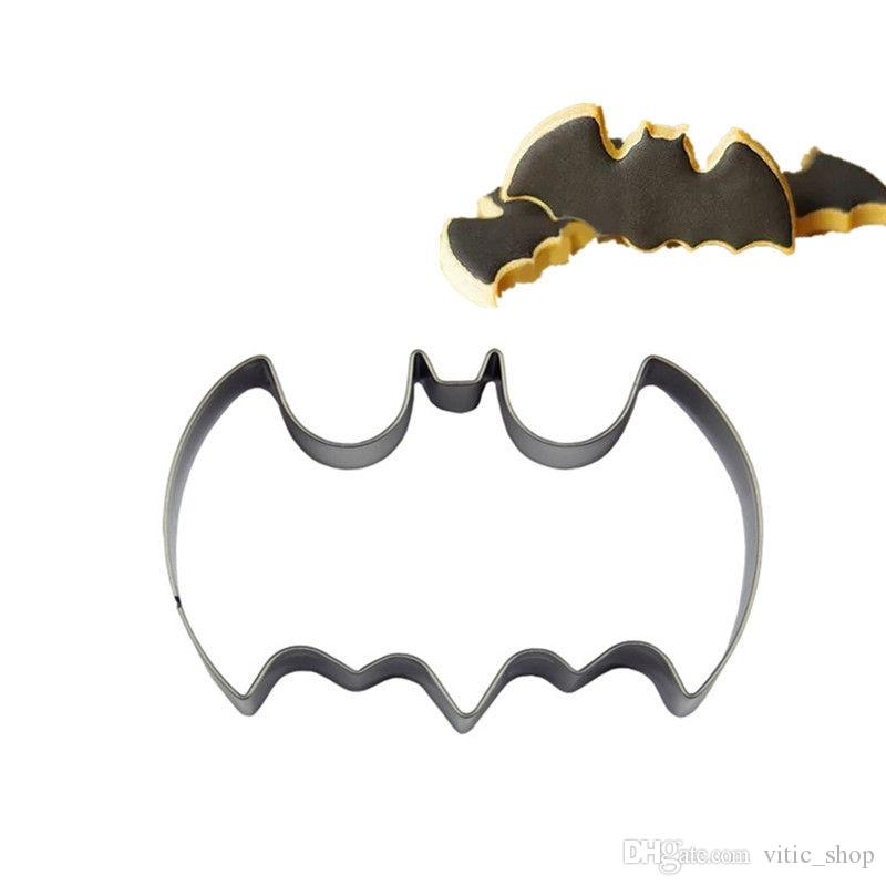 Halloween biscuit mold Stainless Steel Bat Shape Cookie Cutters DIY Tools for Baking