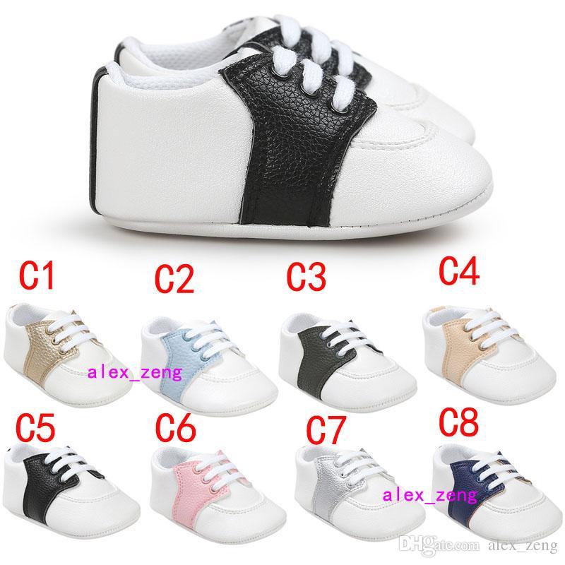 متعدد الأساليب أحذية الطفل غير زلة باطن طفل رضيع طفلة أحذية الحلوى الملونة الأولى ووكر الأحذية الأزياء الملونة القوس شرابة الصغار شو