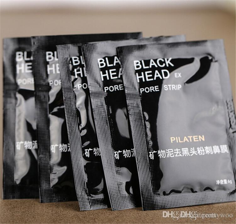 2015 HOT PILATEN Facial Minerals Conk Nose Blackhead Remover Mask Pore Cleanser Nose Black Head EX Pore Strip by dhl