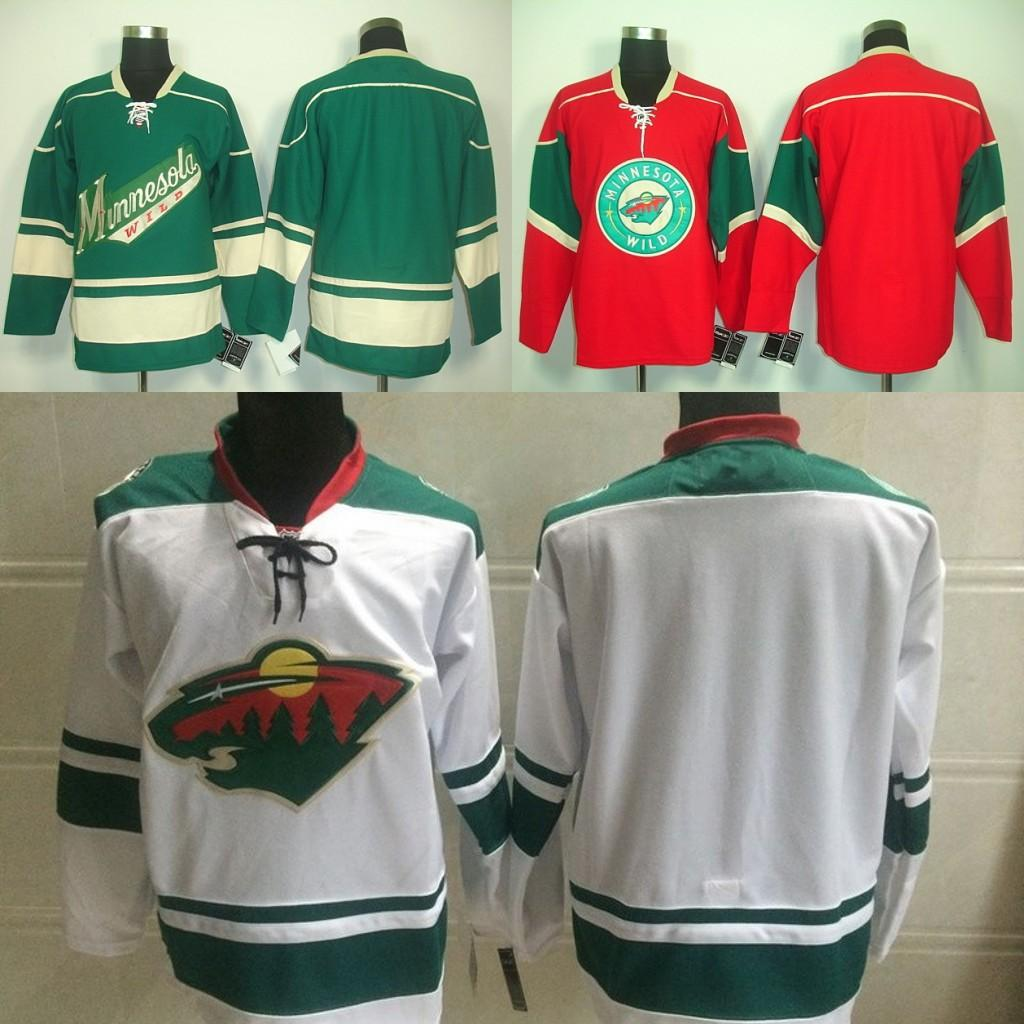 2018 Minnesota Wild Jerseys Blank Green White Red No Name No Number Cheap  Plain Ice Hockey Jersey,Accpet 100% Embroidery From B2bcn, $30.22 |  Dhgate.Com