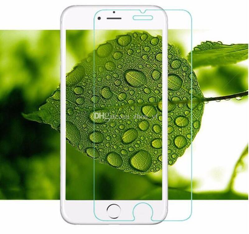 Protetor de Tela Cell Phone para iPhone x 8 mais vidro temperado 9H rígido telemóvel capa para iPhone8 vidro de proteção iphone7 Film tampa 6 5
