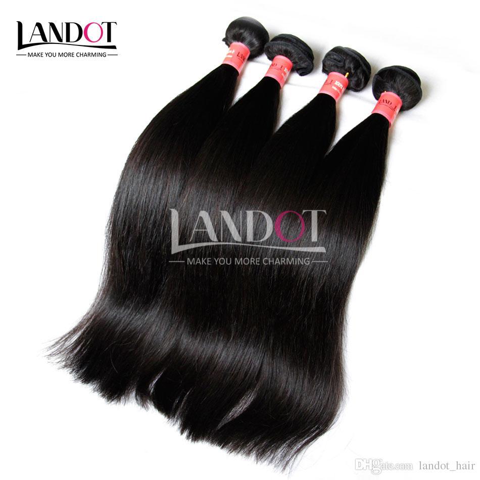 الشعر البرازيلي 100٪ غير المجهزة الإنسان نسج الشعر حزم الصف 8a البرازيلية مستقيم الشعر 3 قطع الطبيعية الأسود dyeable مزدوجة لحمة