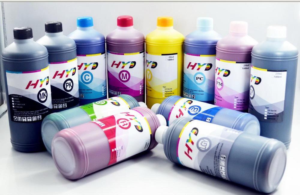 HYD 12 LitersRefill pigment ink for Canon IPF5000 IPF5100 IPF6100 IPF6200 Inkjet printer ink tank refill