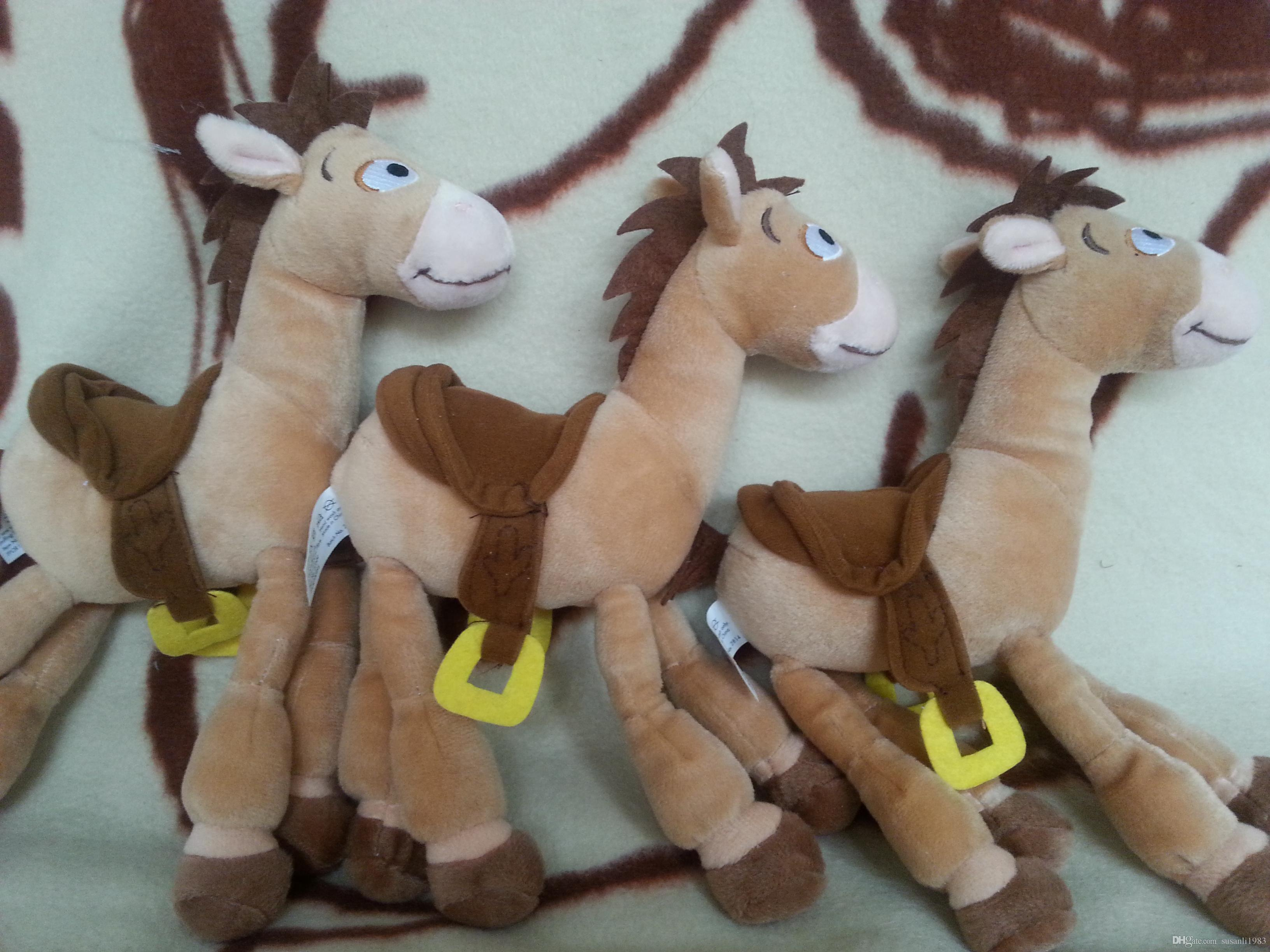 2017 26 23cm Toy Story Red Star Horse Plush Toys For Children