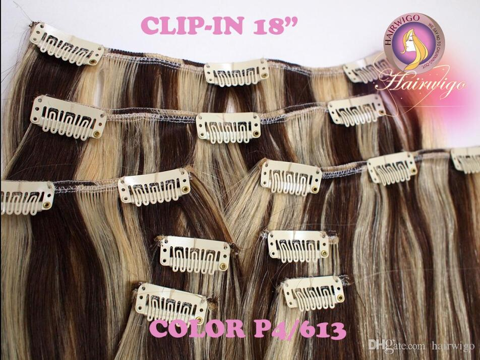 100 human hair clip in extensionclip in weftclip in in one 100 human hair clip in extensionclip in weftclip in in one18chocolate brown striped with platinum blonde p4613 extensions remy hair hair extensions pmusecretfo Choice Image