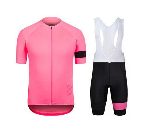 Rapha Shorts Ciclismo Jerseys Conjuntos 2016 Cool Bike Terno Bicicleta Jersey Respirável Ciclismo Mangas Curtas Camisa Bib Shorts Mens Roupas de Ciclismo