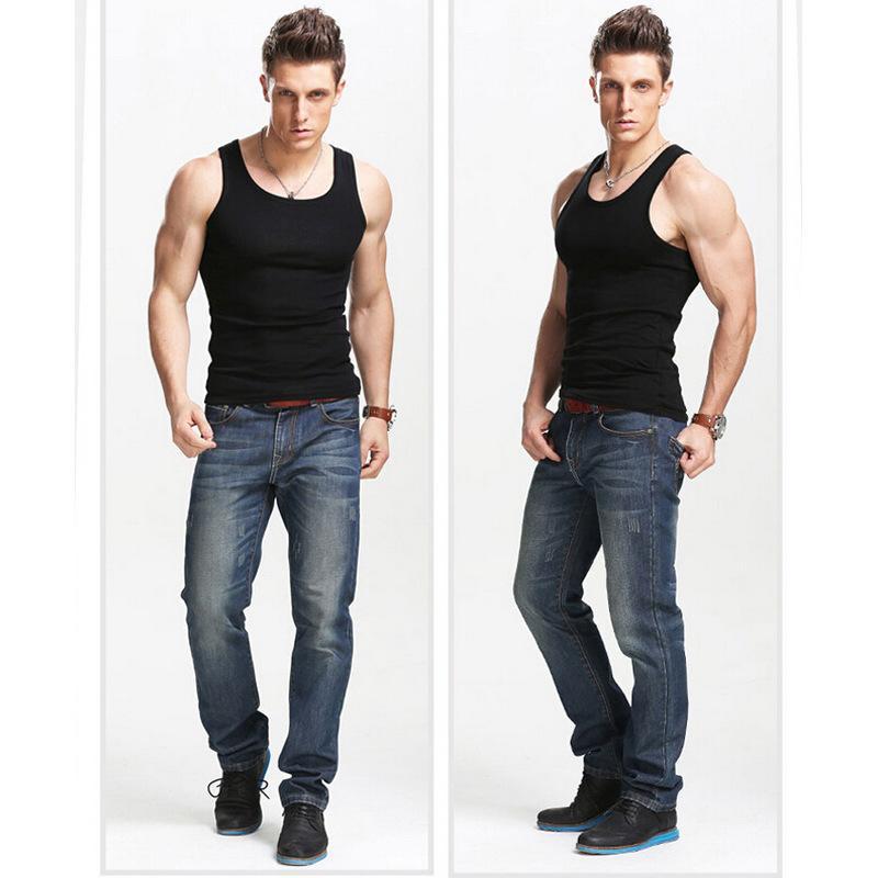 Fashion Men Tank Top Summer Sport T Shirt Hot Selling Woven Cotton Rib Knitting Men 39 S Tanks Gym