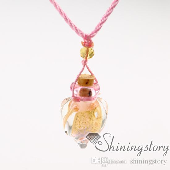 diffuseur de collier huile essentielle diffuseurs de verre au chalumeau diffuseur de parfum colliers aromathérapie