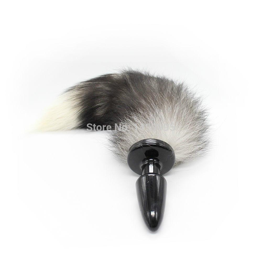 4db7f1c7a1f Adult Products Sex Toys Faux Fur Cat Tail Anal Plug + Fox Tail For Roleplay  Fancy Dress Cosplay Sexy Shop Roma But Plugs From Yumeifan