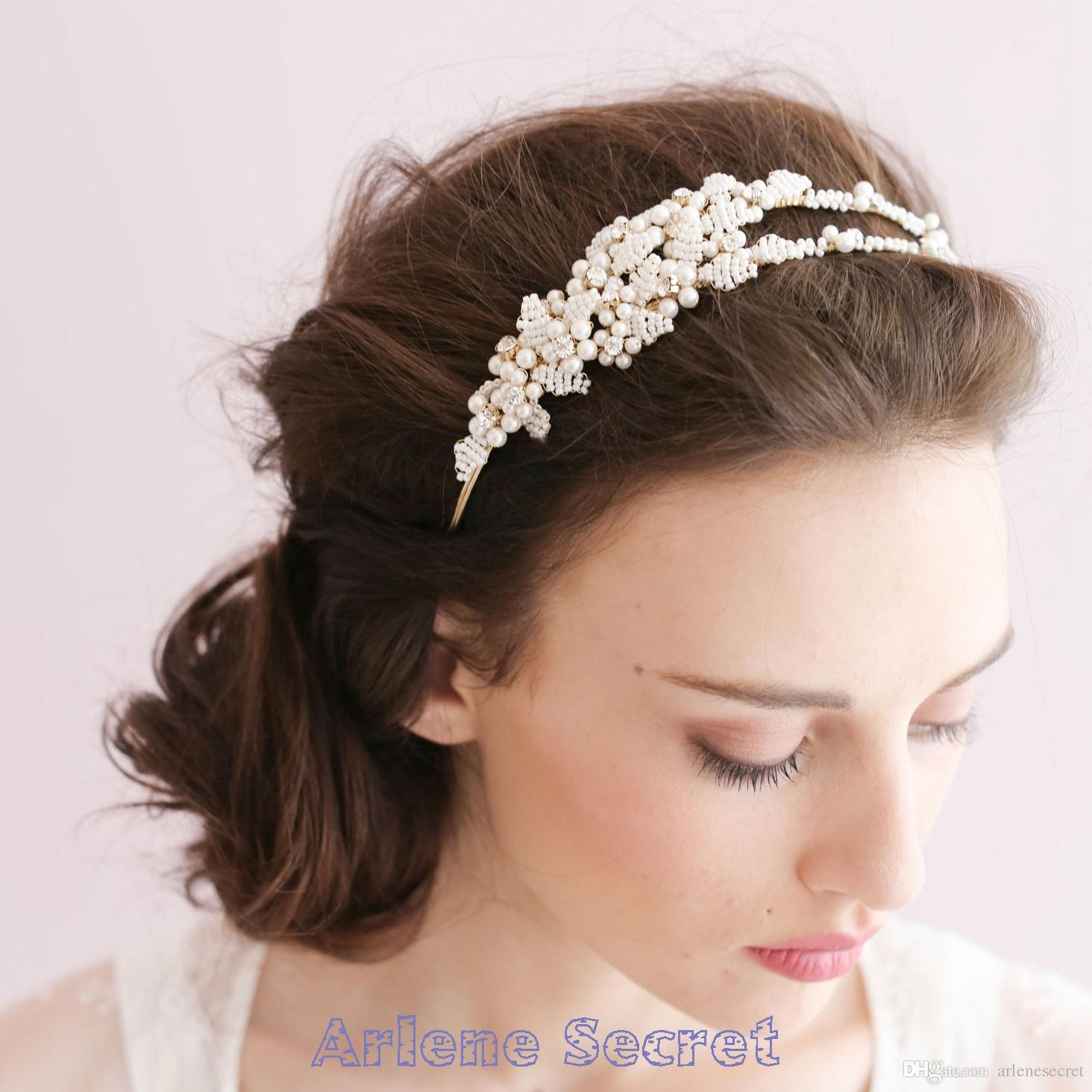 2015 Bridal Tiaras For Wedding Hair Accessories Crystal Rhinestone