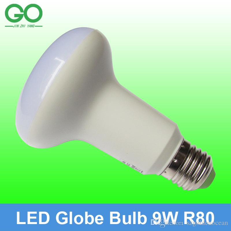 LED Globe Lamp Bulb 9W E27 R80 E26 dimmable 110V 120V 220V 230V 240V  Replace Halogen Lamp 90W Ball Light Lamp