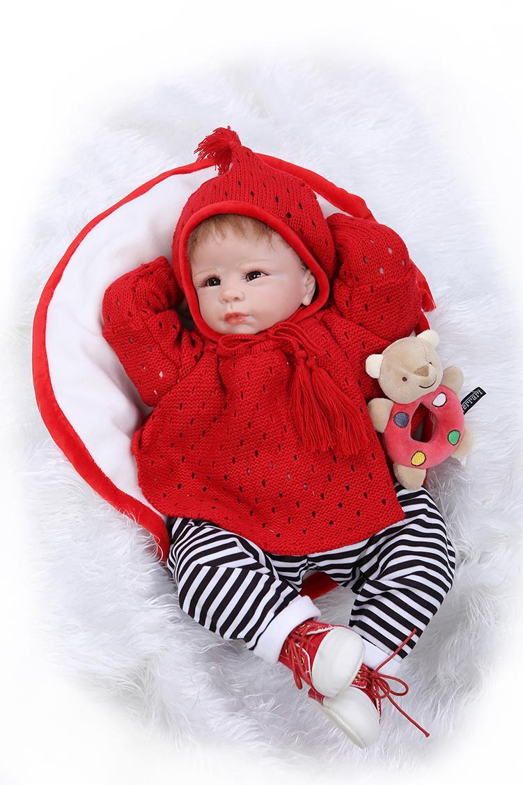 Compre 22 Muñecas De Niña De Silicona Suave Realistas Bebé Renacido ...