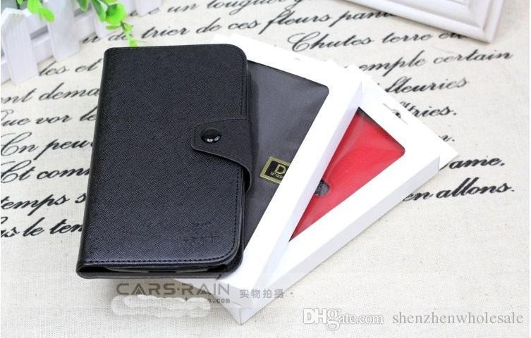 La più recente confezione in carta bianca Samsung Galaxy S2 3 4 Note Custodia in pelle Xiaomi 3 Confezione in vendita senza stampa