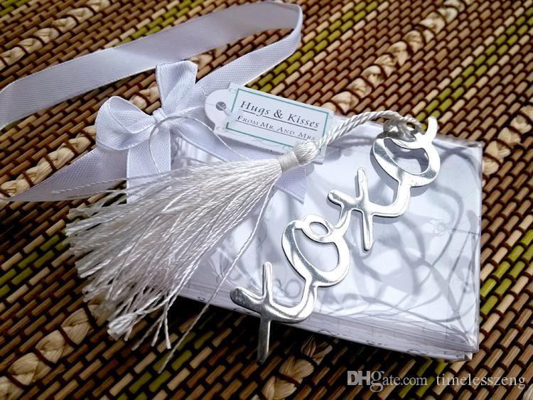 Segnalibro Segnalibro cappello in acciaio inox argento con nappe 100 pezzi bomboniere Bomboniere nuziali