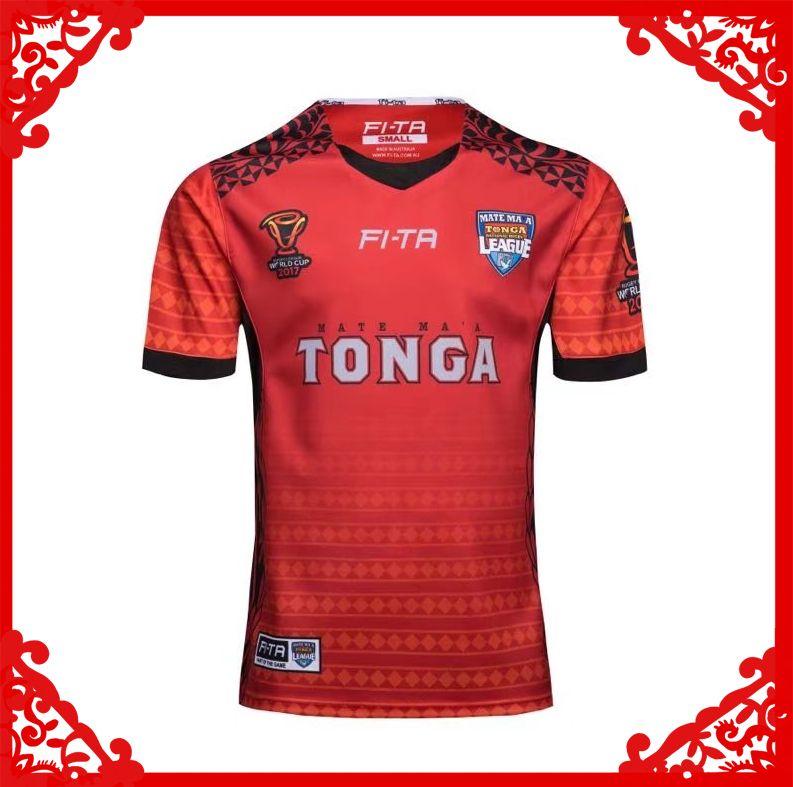 8a3c40b898b 2019 Tonga World Cup Jersey Rugby Shirt 2017 2018 TONGA Rugby Jerseys FI TA  League Shirts From Mufasa sports