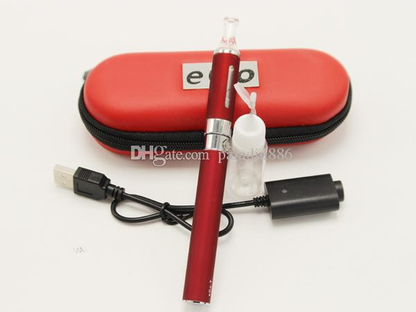EGO T MT3 Single Starter E-cigarette kit MT3 atomizer Clearomizer 650mah/900mah/1100mah EGO T battery ego cigarette kit DHL