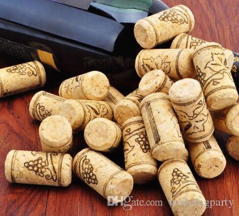 Natürliche Holzkorken Weinflasche Stopper Unbenutzt Gerade Runde Kork Stecker Abdichtung Caps Bar Tool