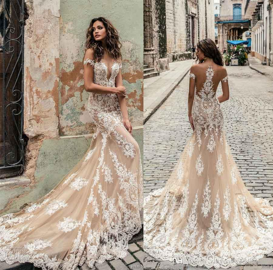 Blush Color Wedding Dresses