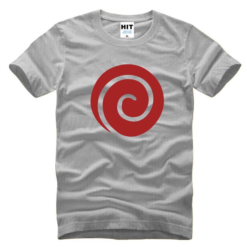 C 0131 Anemi T Shirts Naruto Uzumaki Clan Symbol T Shirt Naruto ...