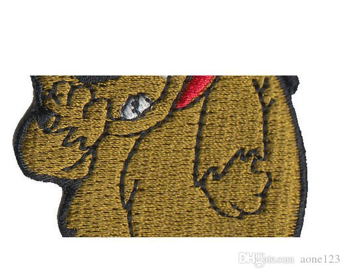/5.2*6.5cm Cartoon cloth patches Embroidered clothing Patches iron-on Patches can be customized quickly