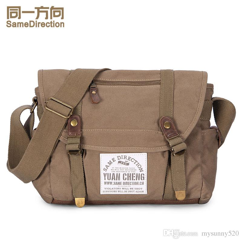 c7abc70f1d FanFine men messenger bags men s fashion canvas bag classic leisure bag men  fashion