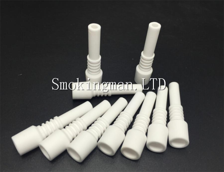 In Stock Mini Ceramic Nail 10mm Male Ceramic dabber 14mm 18mm Ceramic Nail Tip