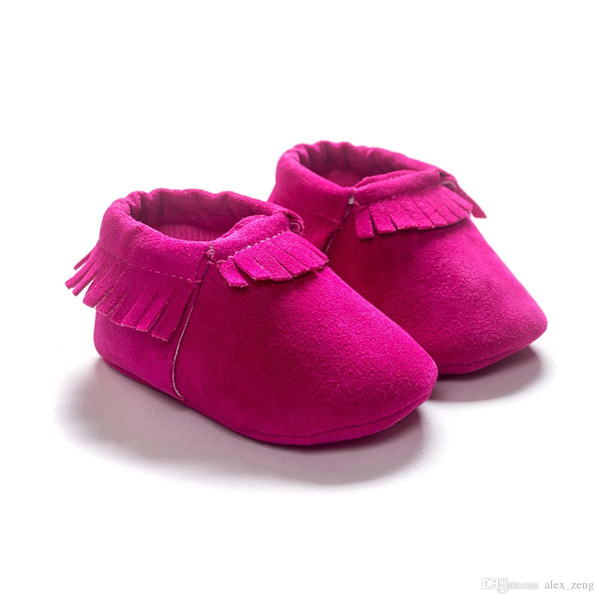 i mocassini bambino suola morbida vera pelle primo camminatore scarpe bambino neonato opaco texture scarpe nappe scarpe maccasions