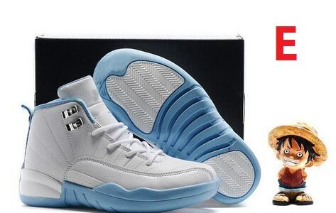 12 Kids Basketball Shoes Youth Children's Athletic 12 Sports Shoes for Boy Girls Shoes size:28-35