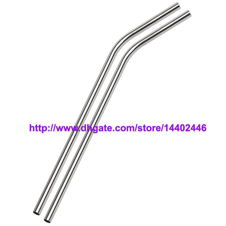 Straw Bar İçme Yeniden kullanılabilir ECO Metal 10g / Paslanmaz Çelik Hasır Çelik Payet 8.5