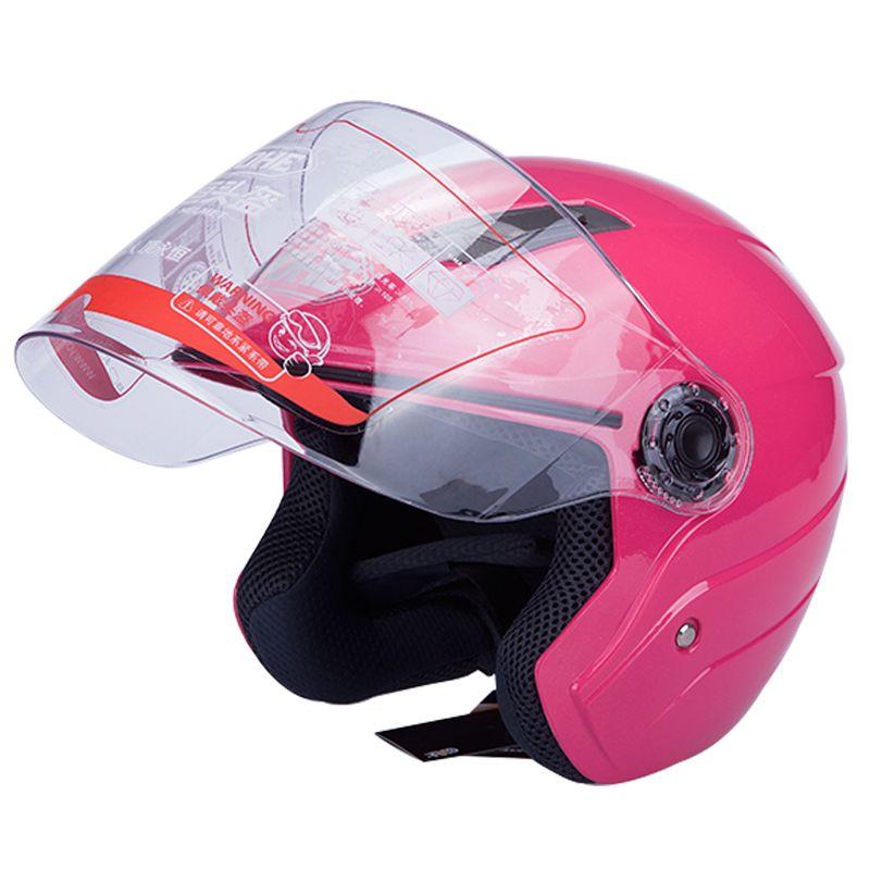 motorcycle Half helmet ,hot sell Cool motocross matt white YOHE 837R electric bicycle water-resistant safety helmet yh-837 Half face