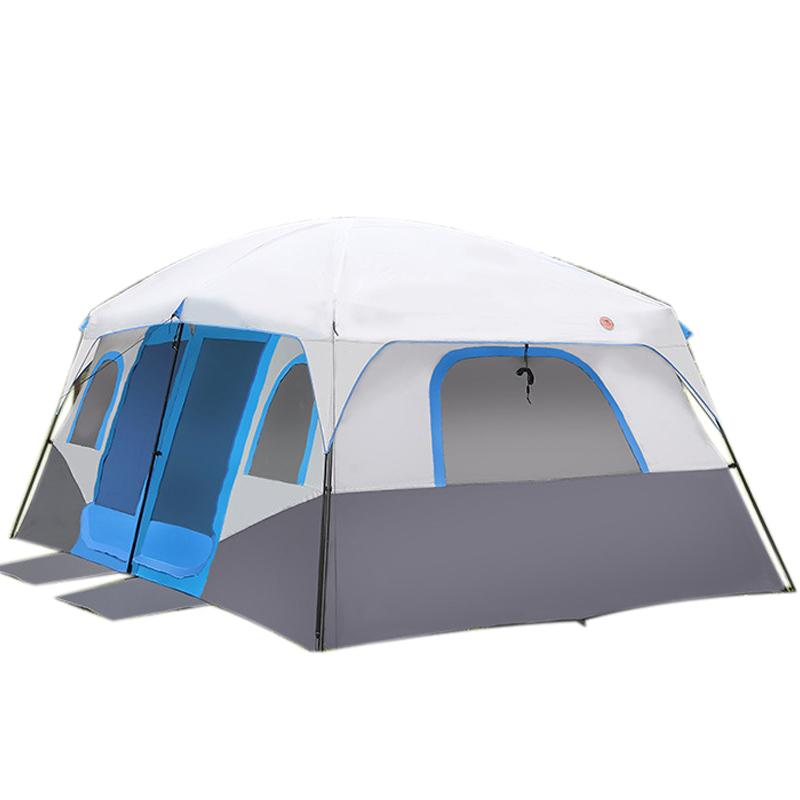 Shuker Large Family Camping Tents Waterproof Cabin Outdoor Tent For 8 10 12  Person Event Marquee Tents Camping Tent Reviews 8 Man Tents From Shukewang,  ...