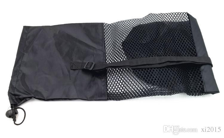 nylon yoga bag yoga mat bag carrier mesh center yoga backpack Black Color DHL Fedex