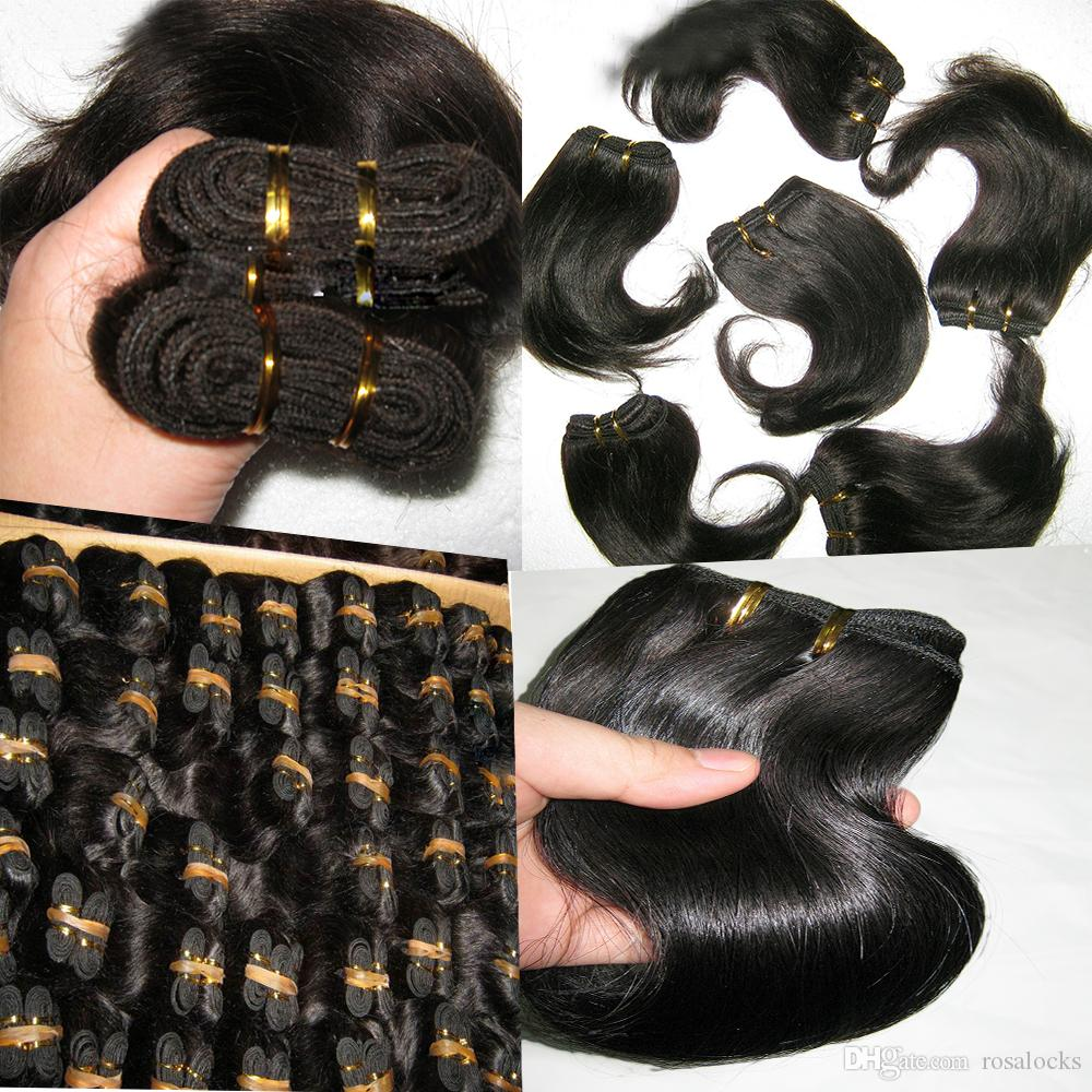 1.5kg deal Wholesale cheap weave remy Indian temple wavy hair 8 inch Short Bob looking Fedex express shipping