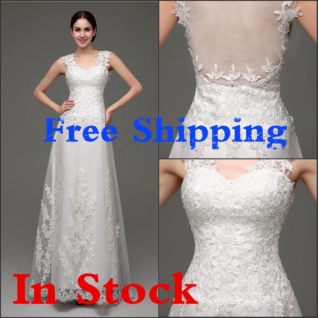 2016 fashion elegant white ivory wedding dress sheer back sexy