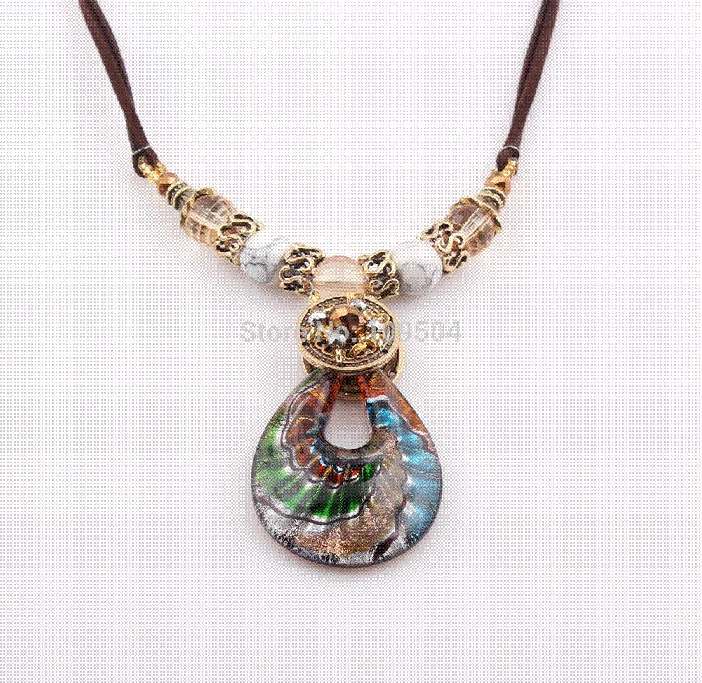 Wholesale european hot sale summer drop murano lampwork glass wholesale european hot sale summer drop murano lampwork glass pendant necklace jewelry wholesale zn75 pendants cheap pendants gold heart pendant necklace aloadofball Gallery