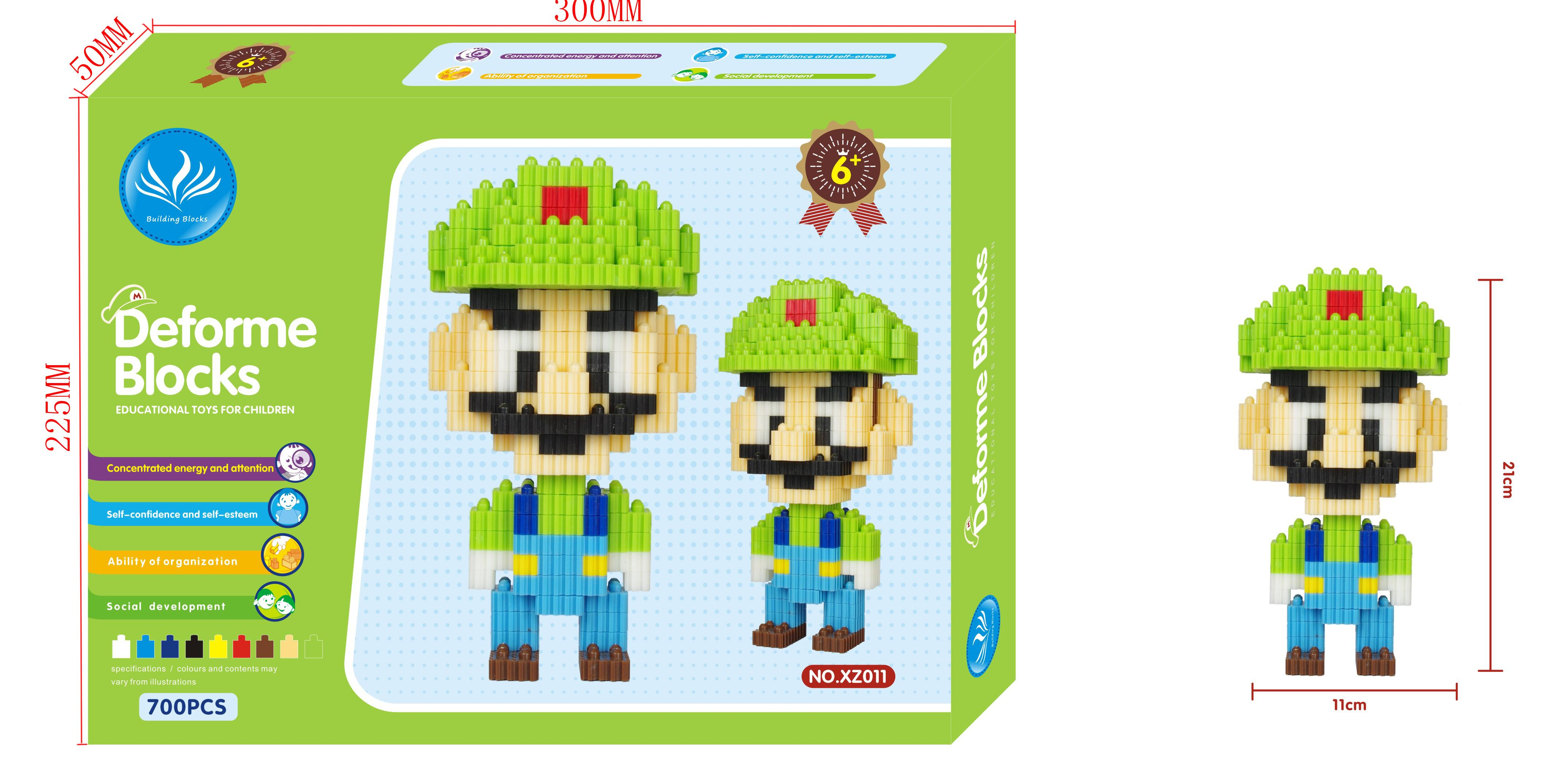 2018 Girl Love Cartoon Luigi Connection Blocks Middle Blocks Mario