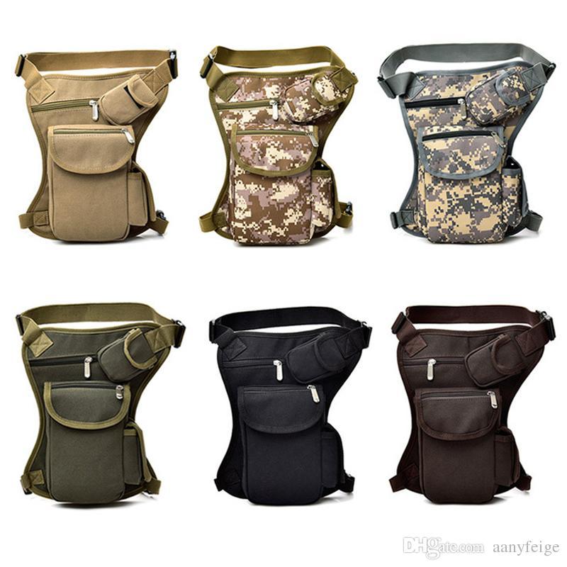 0843ea23c9 Outdoor Canvas Waist Bags Waistpacks For Men Women - Multi-function ...