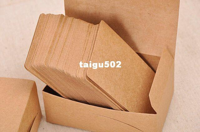 2018 blank kraft chipboard business card gift tags plain message 2018 blank kraft chipboard business card gift tags plain message wedding party note card from taigu502 816 dhgate colourmoves