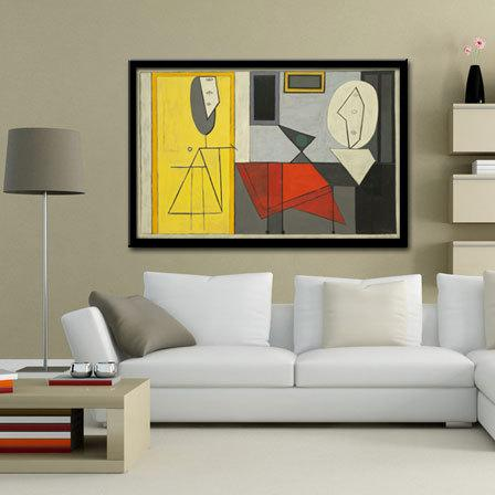 Modern Abstract Art Oil Painting Wall Decor Canvas Picasso Oil ...