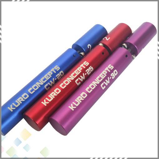 Kuro Concepts Kuro Koiler Jauge pour Cigarette RDA RBA Outil d'enroulement de fil Atomiseur Outil d'enroulement Enrouleur enrouleur 3 couleurs DHL gratuit