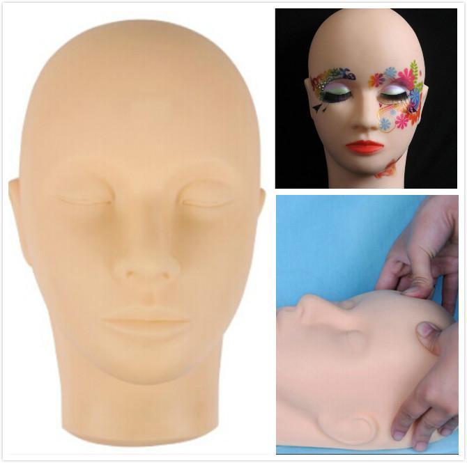 Makeup practice head