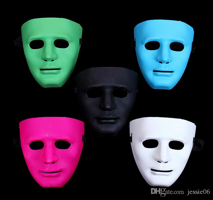 Hot Festival Maschera Bboy hiphop maschera maschere di festa di Halloween JabbaWo Maschera ragazze ragazzi uomini donne costome pure i maschera EMS 80 pz