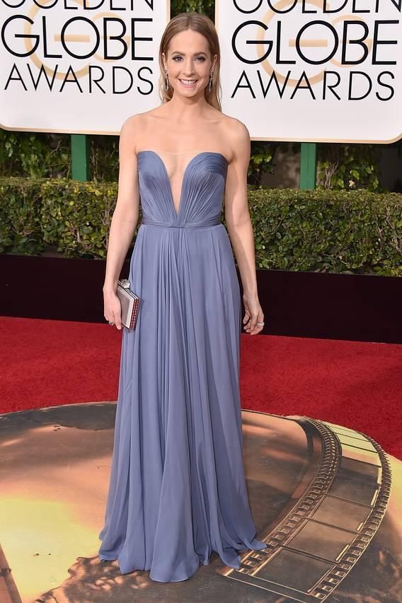 2016 Cheap Custom Made Sweetheart Strapless Reem Acra Celebrity Dresses 73rd Golden Globe Awards Joanne Froggatt Evening Party Prom Dresses