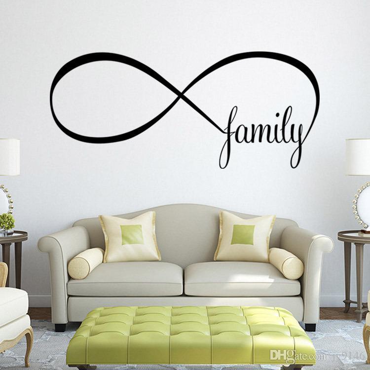 Acheter Citation De Famille Autocollant Mural Bricolage Amovible
