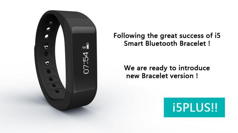 Mais novo Iwown I5 Mais Inteligente Pulseira Bluetooth Atividade Pulseira Esportes Inteligentes Relógio Inteligente Passo Sono Rastreador ID de Identificação de Chamada