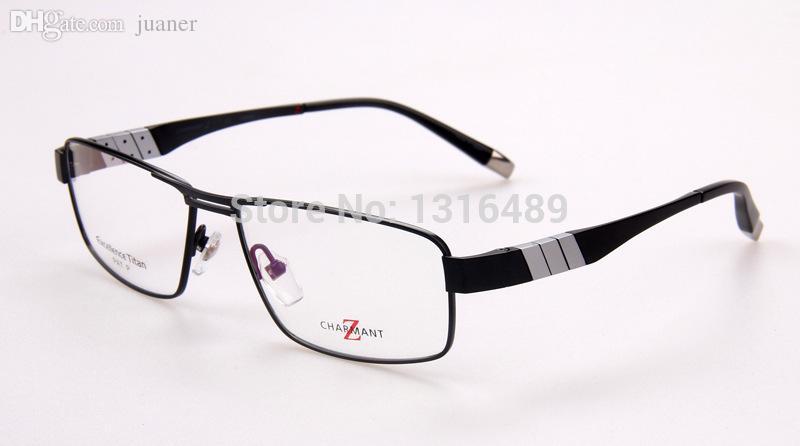 c4169734deb 2019 Wholesale ZT11767 Charmant Optical Frames 2015 New Brand Designer  Eyeglasses Z Titanium Men Rimless Eyewear Frames Size 56 15 140 From  Juaner