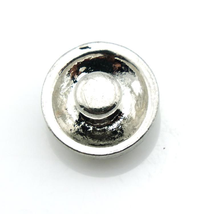 جديد وصول 12 ملليمتر المفاجئة أزرار معدنية 2 اللون كريستال القلب المشابك خطاف diy التبادل noosa مجوهرات اكسسوارات